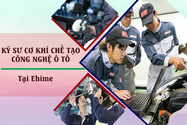 Tuyển 24 Nam Kỹ sư cơ khí chế tạo công nghệ ô tô lương 50 triệu VNĐ tại Ehime