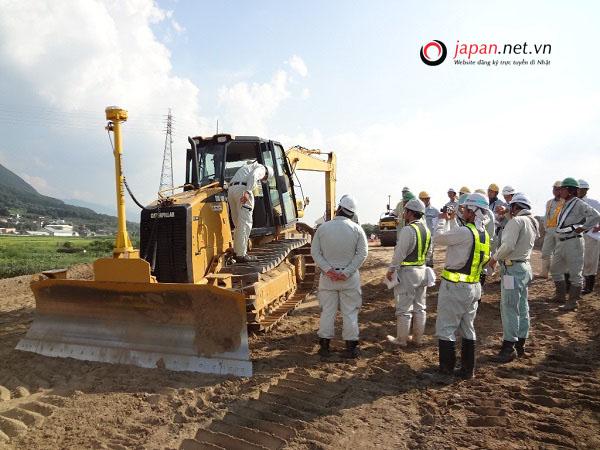 [Tuyển Gấp] Đơn hàng lái máy xây dựng đi Nhật tại Kagawa- CHI PHÍ CỰC THẤP