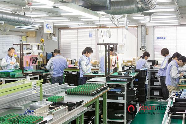30 suất đi XKLĐ Nhật đơn hàng điện tử quay lại lần 2 tại Gunma lương cao
