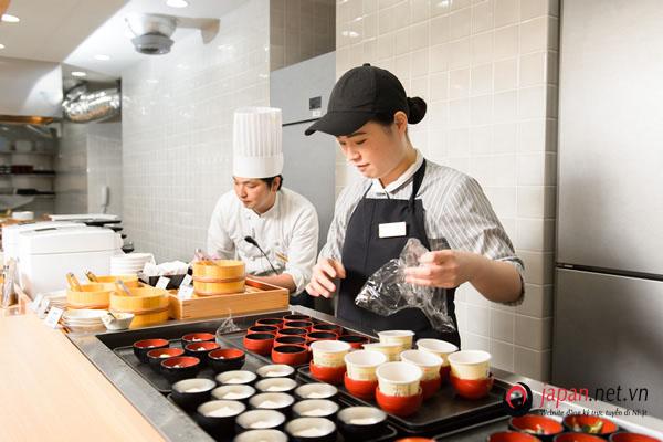 Đơn hàng làm nhà hàng, dịch vụ ăn uống tại Kyoto thi tuyển tháng 12/2019
