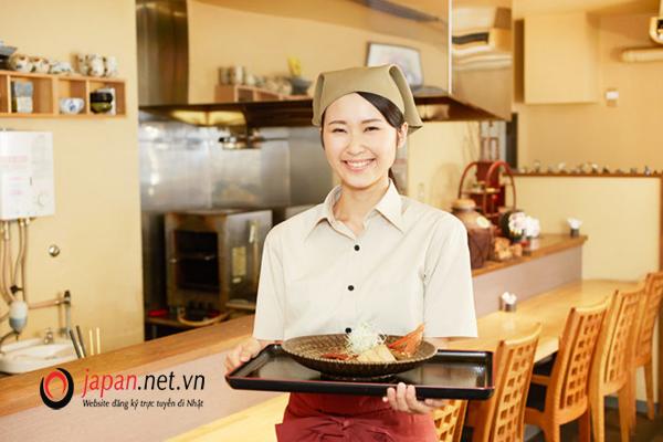 Đơn hàng làm nhà hàng, dịch vụ ăn uống tại Kyoto thi tuyển tháng 01/2020