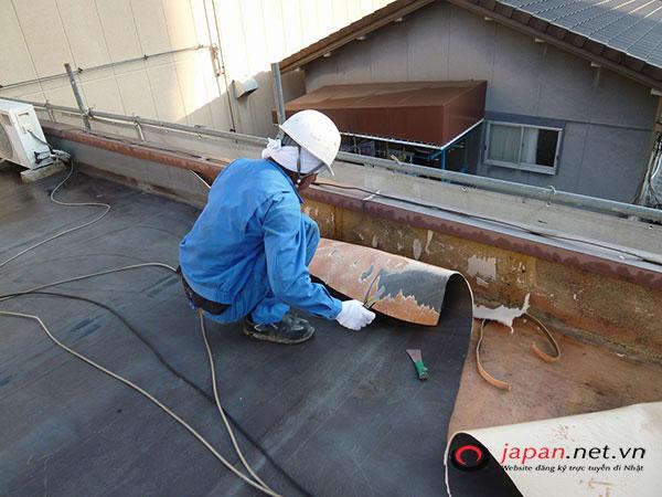 Thực tế công việc đơn hàng chống thấm tại Nhật Bản thế nào?