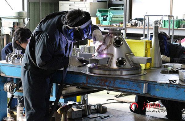Đối tác truyền thống- Tuyển 36 Nam đơn hàng gia công kim loại tại Hyogo