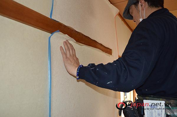 Cần gấp 24 nam đơn hàng dán giấy tường nhà tại Saitama - thu nhập 30 triệu/ tháng