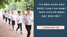 TTS đơn hàng nào được quay lại Nhật theo visa kỹ năng đặc định số 1?